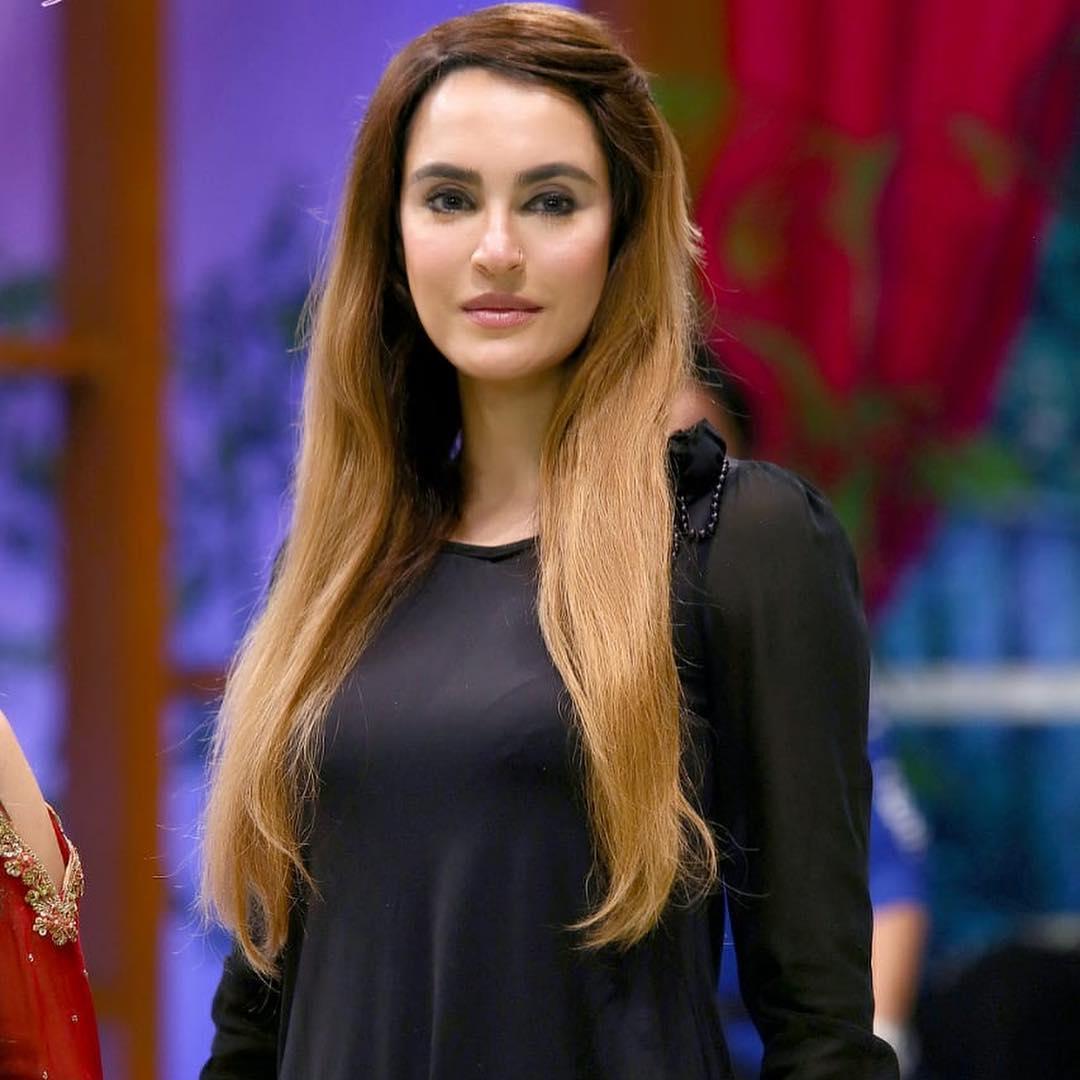 Nadia Hussain bridal makeup