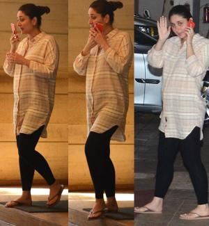 Kareena Kapoor With Baby Bump! Setting Example of Maintaining Personal & Professional Life