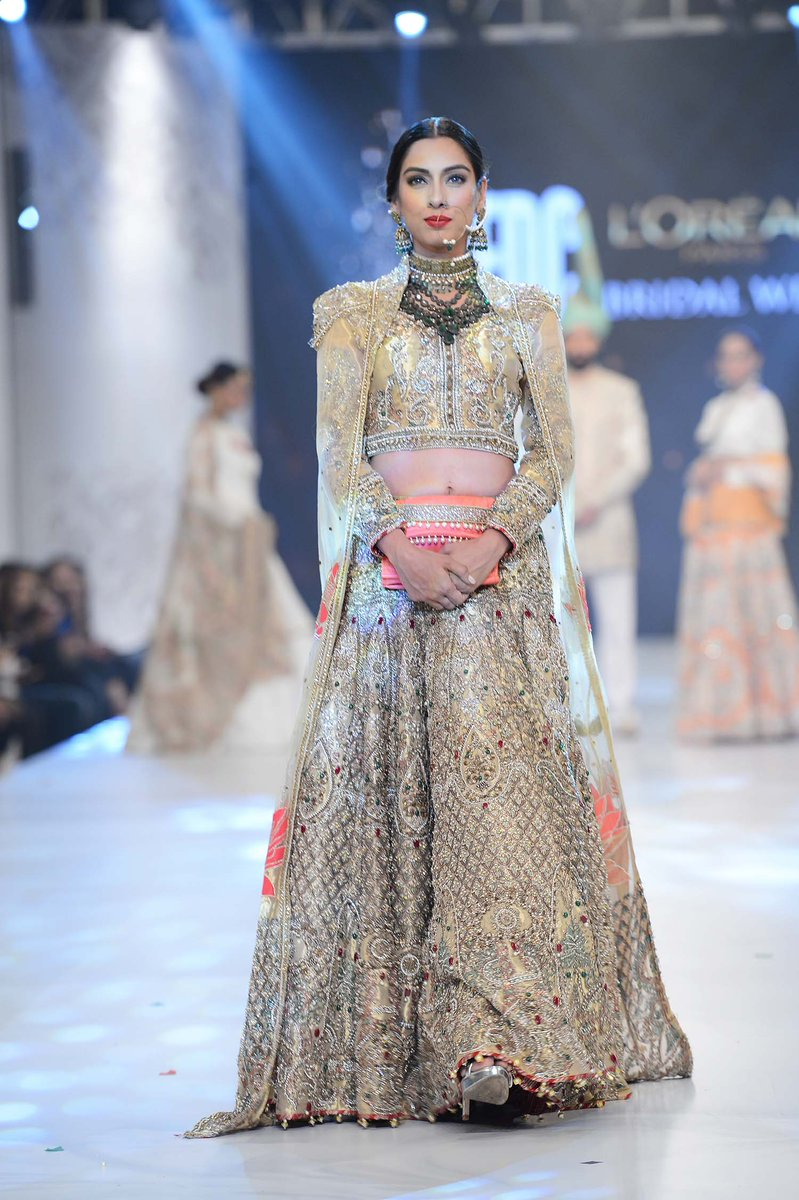 513cad3c PFDC L'Oréal Paris Bridal Week 2016 | Day 1 | Fashion events ...