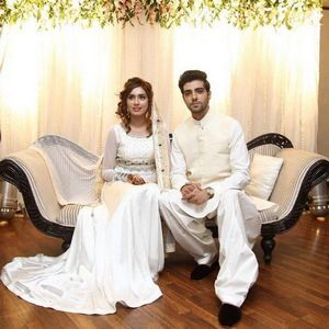 Actor Furqan Qureshi Ties Knot With Model Sabrina Naqvi | Wedding Images