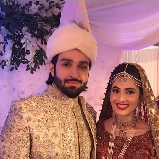 Actor Azfar Rehman Ties Knot | Images Gallery