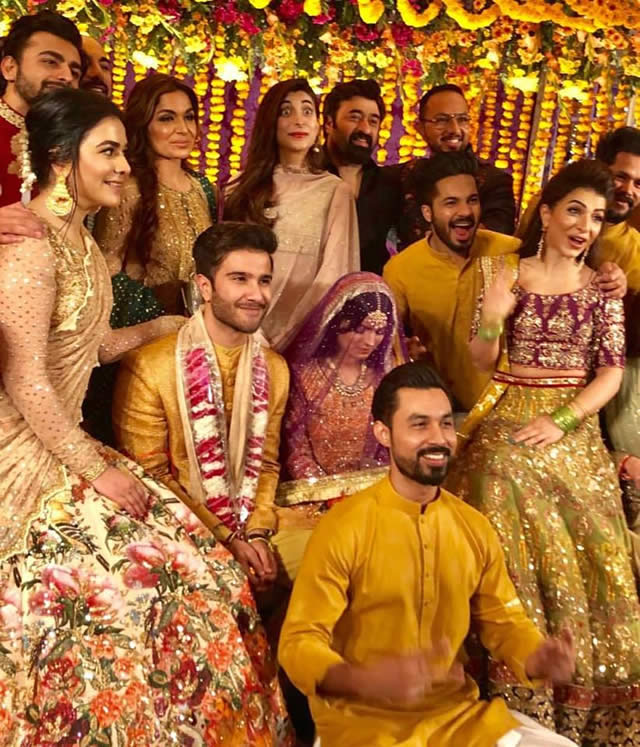 Feroze Khan's Mehndi Celebrations