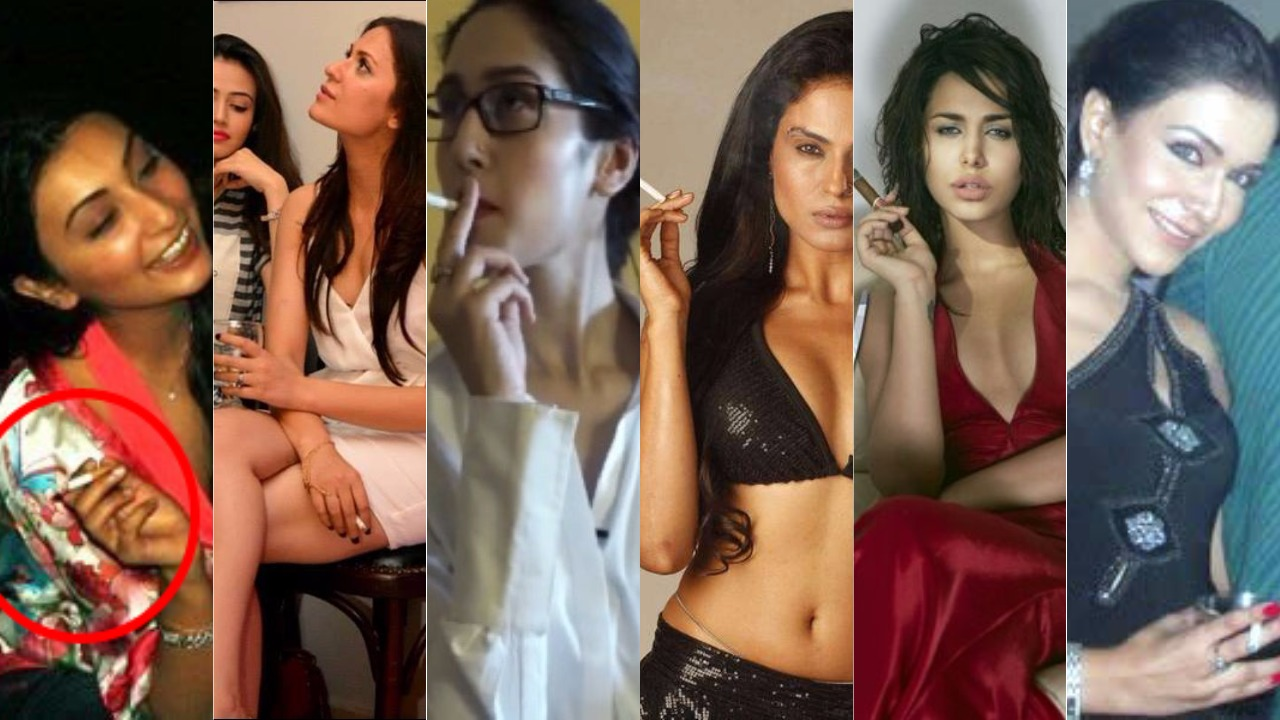 Top Pakistani Female Actress or Anchors Who Caught Smoking or Drinking Publically